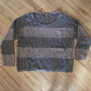 Free people striped sweater size med